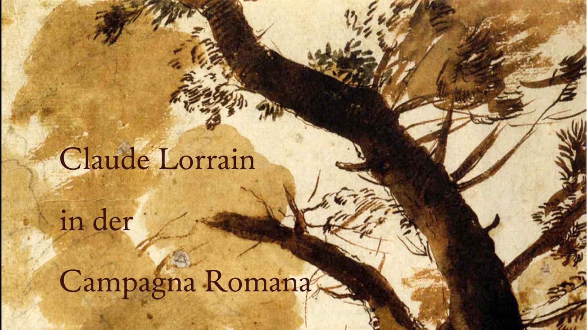 Claude Lorrain in der Campagna Romana