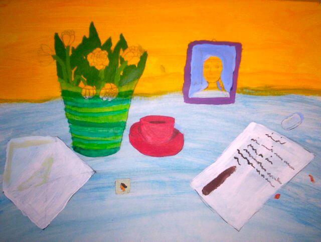 Mailart Kinderkunstprojekt 2020