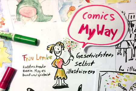 Comics my way _sabine lemke_atelierprojekt