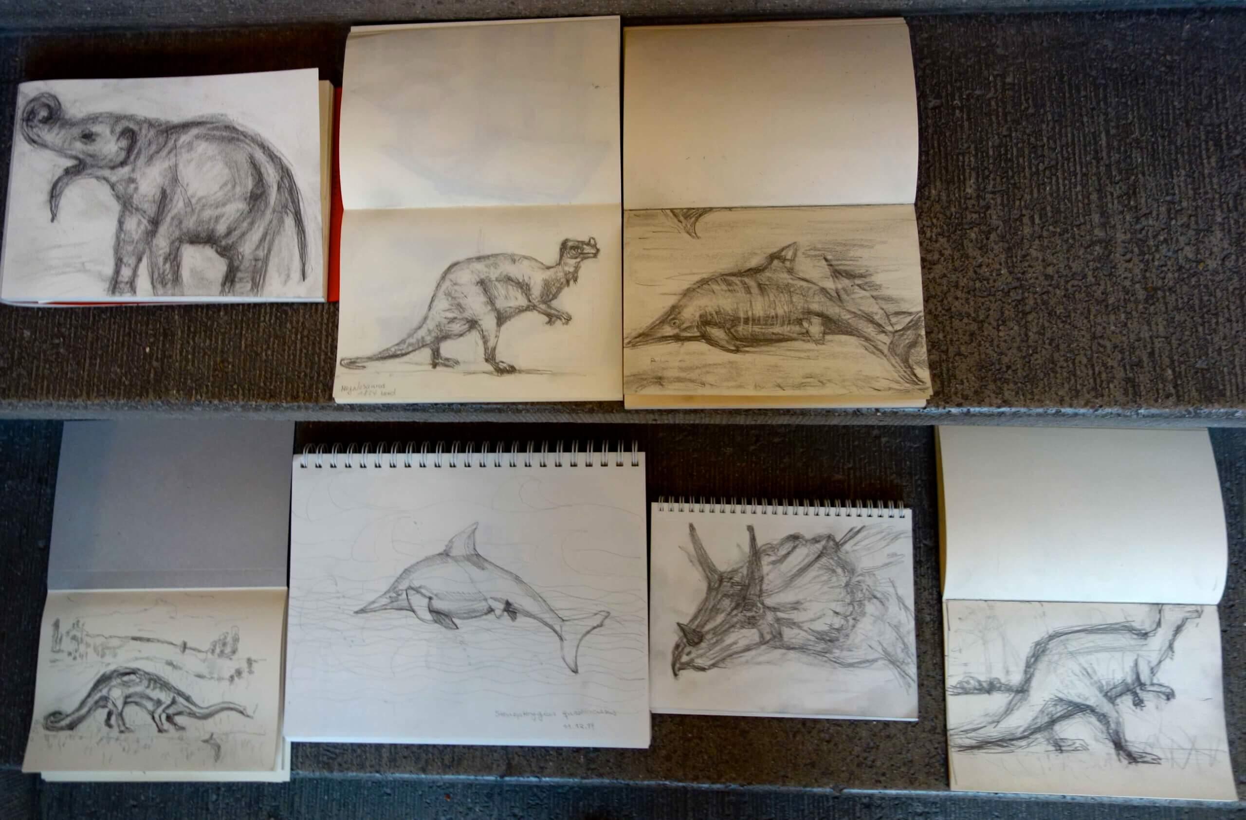 Zeichnen im Museum - Silke Blomeyer