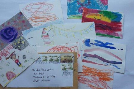 Kinderkunstprojekt Wenn ich ein Vöglein wär