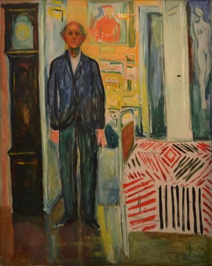 Edvard Munch - Selbstportrait