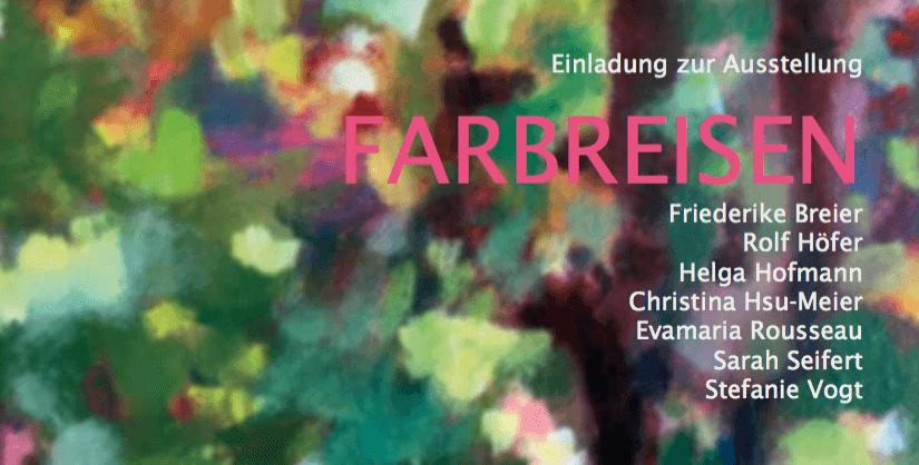 Farbreisen _Ausstellung Schülerinnen Silke Blomeyer