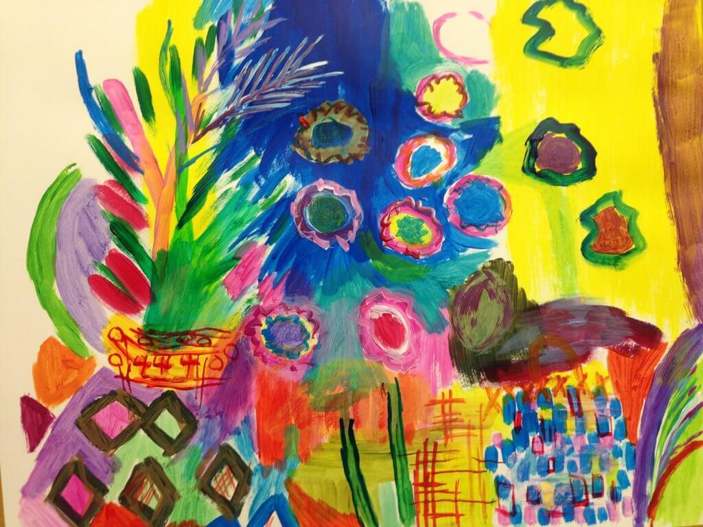 Lust auf Farbe - Malen mit Cornelia Eichacker