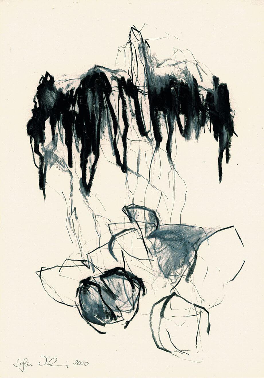 Landstriche, 2002 - Zeichnung von Stefan Wehmeier