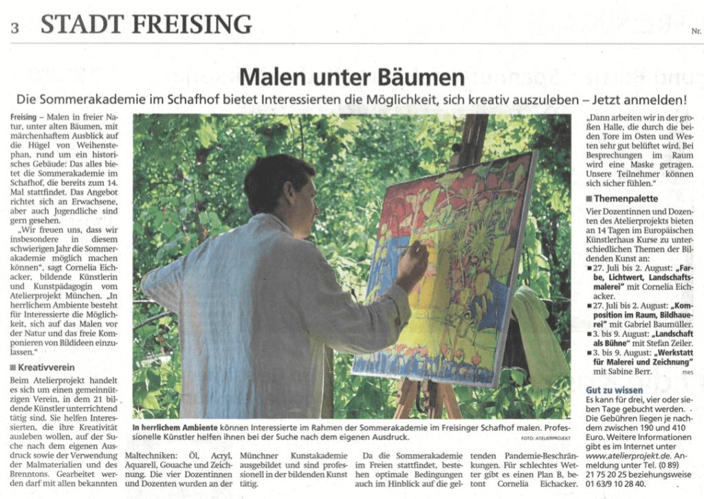 Stadt Freising - Schafhof Sommerakademie 2020