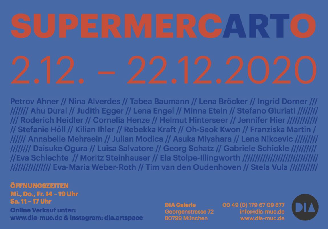 SupermercARTo - ausstellungsflyer 2020