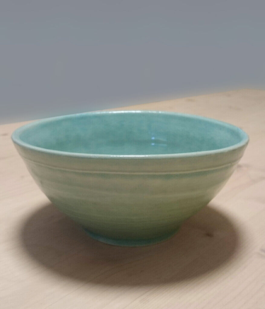 Keramikarbeit eines Schülers